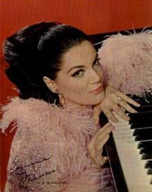 Connie Francis in a 1965 promotional photo